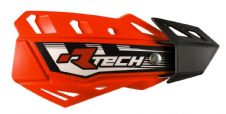Racetech Neon Orange FLX Standard Handguards With Mount Kit Motocross Enduro
